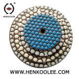 4'' Hex Plaquettes de polissage à sec pour le Granite marbre