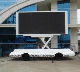Mobiele LEIDENE van de Reclame van het avondmaal Praktische Commerciële P10 Aanhangwagen
