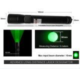 新しい長距離100mw緑レーザーデジグネーター/視力(ES-G25-H)