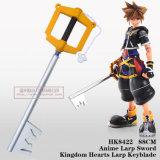 Reino do Anime Larp Keyblade 88cm HK8422 dos corações