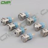 CMP는 힘 상징을%s 가진 16mm 분명히한 걸쇠를 거는 누름단추식 전쟁 스위치를 방수 처리한다