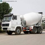6X4 HOWO camiones cisterna Capacidad 10 metros cúbicos de camiones hormigonera