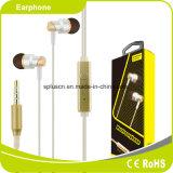 Fone de ouvido da em-Orelha da fidelidade da alta qualidade 3.5mm para o iPhone e a Samsung de Xiaomi