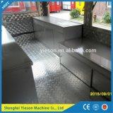 Van de New Aanhangwagen van het Voedsel van China Shanghai Catering Vending Van Truck