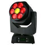 Gbr 7PCS 15W 4in1 LED 디스코 Sharpy 광속 빛 급상승 이동하는 맨 위 꿀벌 눈