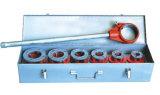 El tubo del trinquete que rosca el trinquete del kit muere el tubo manual común Threader