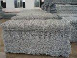 Steinrahmen-Filetarbeit, die sechseckigen Draht Netting&Nbsp fängt;