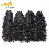 クチクラによって一直線に並べられる人間の毛髪の加工されていないバージンのブラジル人の毛