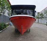 Liya 7.6m Fiberglas-Boot für Fischenpanga-Boot für Verkauf