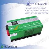 Invertitore puro solare dell'onda di seno del sistema 5000W dell'UPS della casa