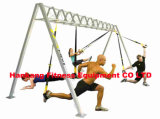 De geschiktheid, gymnastiekapparatuur, geschiktheidsmachine, Chroom drukt Staaf (hb-021) neer
