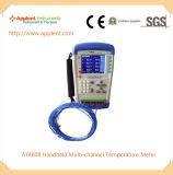 Instrumento da medida do termômetro para as indústrias do diodo emissor de luz (AT4808)