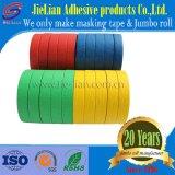 Cinta de enmascarar de papel crepé color proveedor chino