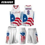 最新のデザイン平野の白旗は昇華させたメンズバスケットボールの摩耗(BK017)を