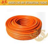 안전 PVC에 의하여 강화되는 가스 호스 관