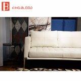 Sofá de cuero genuino azul del sofá de Italia Nappa de la buena calidad para los muebles de la sala de estar