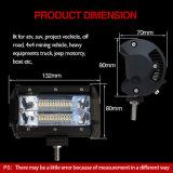 A peça de automóvel IP67 8000lm Waterproof a barra clara do trabalho brilhante do diodo emissor de luz da luz do ponto do trabalho 72W