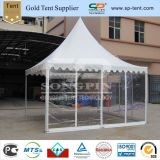 Tente transparente de pagoda de mariage d'usager de chapiteau de PVC