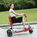 3つの車輪のセリウムが付いている電気移動性のスクーターを折っている大人500W