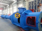 Bomba larga vertical de la turbina del eje de rotación del eje de China, bomba centrífuga sumergida del agua química, bomba sumergida de la mezcla del estanque, bomba semisubmersible