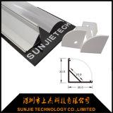 30X30mm Eckaluminiumprofil der bucht-LED mit Material der Aluminiumlegierung-6063-T5
