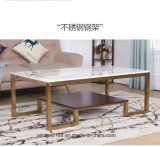 3 고정되는 대리석 커피용 탁자, 좋은 디자인