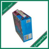 Bunter Nahrungsmittelgrad-gewellter Kuchen-Verpackungs-Kasten angepasst
