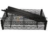 NSF Goedkeuring 4 Rek van de Draad van de Keuken van het Metaal van de Opslag van Sundries van Rijen het Opschortende van de Fabriek van de Plank