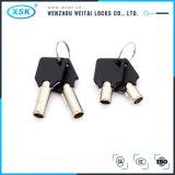M18L18 Aleación de zinc armario seguro Casilla de correo Cam cerradura con llave tubular (YJMH-404)