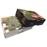 عادة طباعة كرز ورق مقوّى ثمرة يعبّئ صندوق مع غطاء