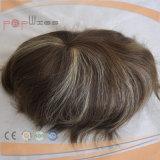 Hairpiece pieno del Toupee del merletto dei capelli umani del bordo dell'unità di elaborazione (PPG-l-0913)