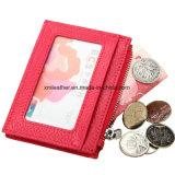 Кожаный кошелек изменение держателя кредитной карты Wallet с рельефным логотипом