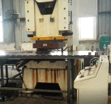 강철 가연 광물 드럼 플랜지를 붙이는 기계