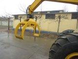 ログクランプ車輪のローダーATVのログのローダーの木製のログは販売のために取り組む