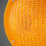 Желтого цвета РР базы строительства мигающие сигнальные огни автомобиля