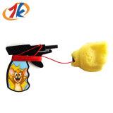 Het plastic Stuk speelgoed van het Kanon van de Lanceerinrichting van de Vuist voor Bevordering