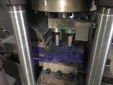 De Machine van de Briket van het Recycling van het Aluminium van het Schroot van vier Lossing