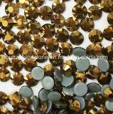 Rhinestone Fix золота 2018 самый новый горячий продавая 5A камень Preciosa экземпляра горячего стеклянный кристаллический (HF-ss16gold)