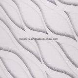 Doppio tessuto del materasso con i reticoli di lavoro a maglia del jacquard