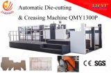 Qmy1300p Manual-Automatic High Speed Flatbed Die Cutting Machine for Corrugated Board