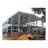 Almacén ligero de la estructura de acero del bajo costo del diseño