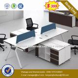 Verdeling van het Bureau van het Werkstation van het Personeel van de Stad van het meubilair de Dubbele Zij (hx-6M087)