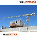 Flache Oberseite-Turmkran 40 Tonnen-Höchstgewicht