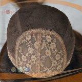 Parrucca anteriore ebrea superiore del merletto della Cina (PPG-l-0407)