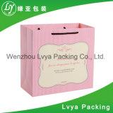 Sacos de papel impressos Eco-Friendly personalizados de feliz aniversario para o presente da embalagem