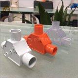 Het T-stuk van de inspectie met het Product van pvc van de Pijp van pvc van het T-stuk van pvc van de Dekking