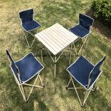 옥외 간편 의자 및 테이블 의 5PCS 야영 세트