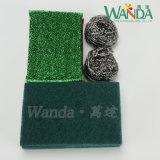 組合せのパッケージのクリーニング製品の緑の研摩の磨くパッドの洗浄のパッド