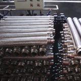 Manguito flexible acanalado trenzado ensanchado del alambre