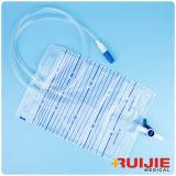 Высокое качество одноразовый мешок с клапаном Pull-Push мочи